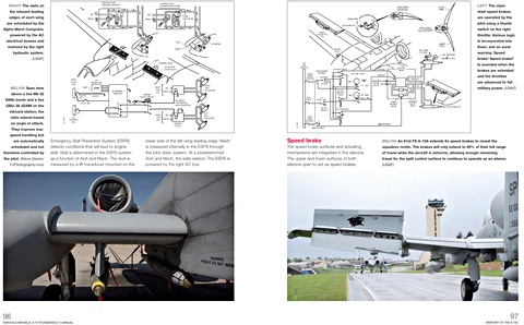 Bladzijden uit het boek Fairchild Republic A-10 Thunderbolt II Manual (1972 to date) - Insights into the design, operation and maintenance (Haynes Aircraft Manual) (2)