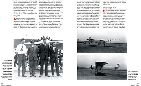 Bladzijden uit het boek Spirit of St Louis Manual - Ryan monoplane (1927) - Insights into the design, construction and operation (Haynes Aircraft Manual) (1)