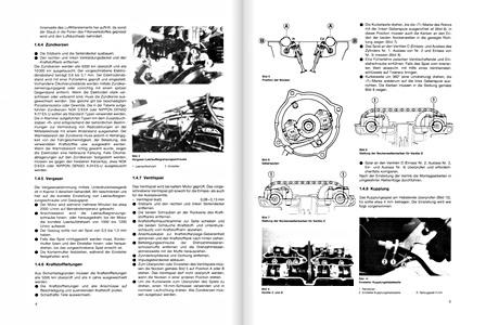 MANUEL REVUE TECHNIQUE D ATELIER SUZUKI GSX 400 F 1982-1983 ENTRETIEN