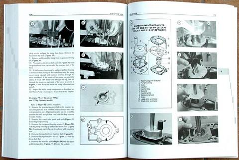 Betere Werkplaatshandboeken / vraagbaken - Clymer Outboard Shop Manuals UT-39